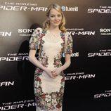 Emma Stone en la premiére madrileña de 'The Amazing Spider-Man'