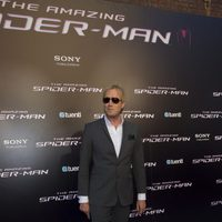 Rhys Ifans en la premiére de 'The Amazing Spider-Man' en Madrid