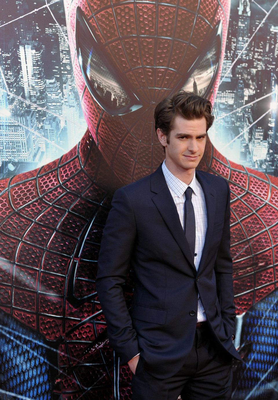 Andrew Garfield en la premiére 'The Amazing Spider-Man' en Los Angeles