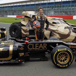 'El Caballero Oscuro: La leyenda renace' en el Lotus E20