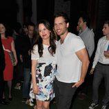 Elizabeth Reaser y Peter Facinelli en la Comic-Con