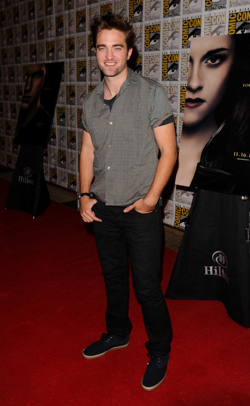Robert Pattinson en la Comic-Con