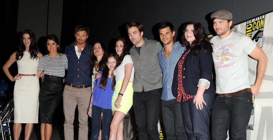 El equipo de 'Amanecer: Parte 2' en la Comic-Con