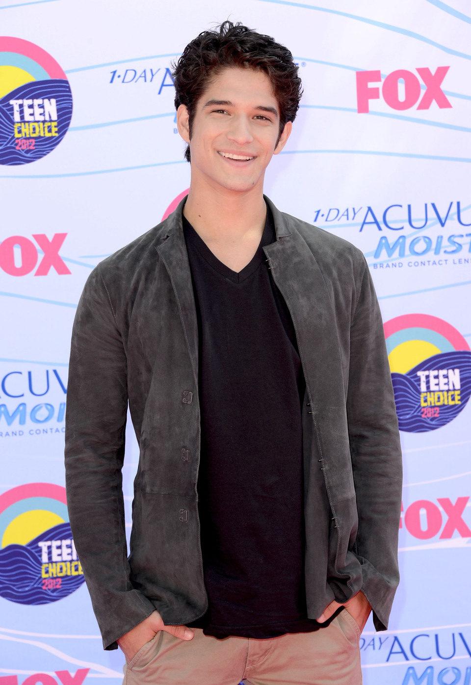 Tyler Posey en los Teen Choice Awards 2012