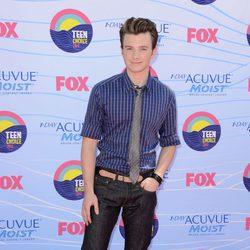 Chris Colfer en los Teen Choice Awards 2012