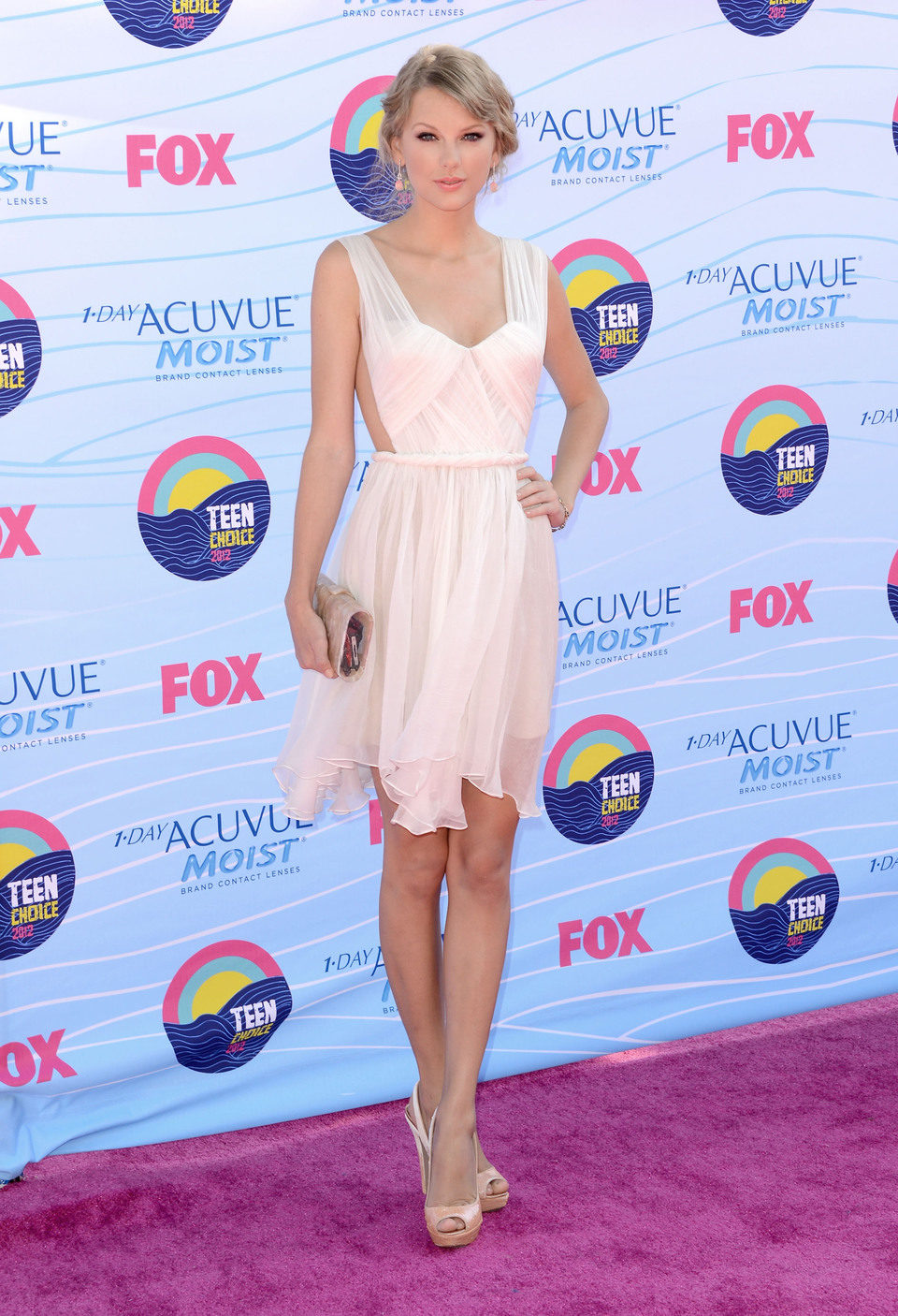 Taylor Swift en los Teen Choice Awards 2012