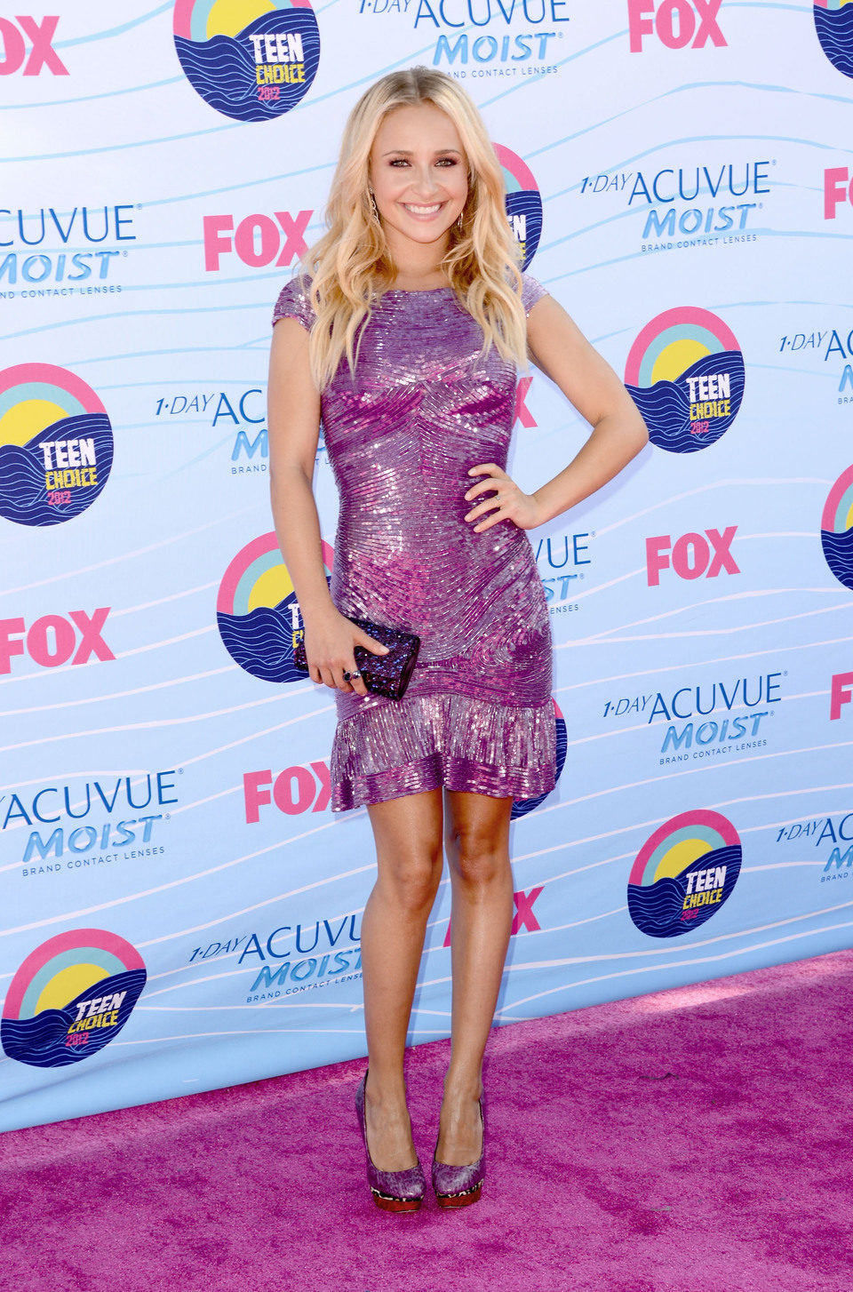 Hayden Panettiere en los Teen Choice Awards 2012