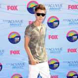 Justin Bieber en los Teen Choice Awards 2012