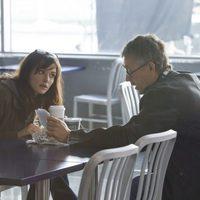 Rachel Weisz con Tony Gilroy en 'El legado de Bourne'