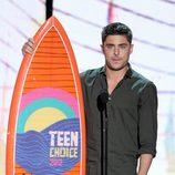 Zac Efron en los Teen Choice Awards 2012