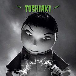 Póster de Toshiaki, de 'Frankenweenie'
