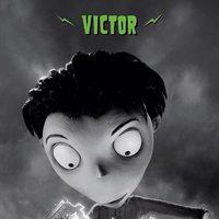 Póster de Victor, de 'Frankenweenie'