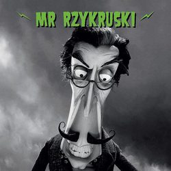 Póster de Mr. Rzykrusky, de 'Frankenweenie'
