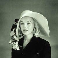 Marilyn Monroe con sombrero