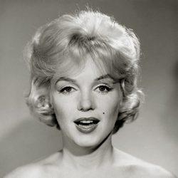 Marilyn Monroe a principios de los años 60
