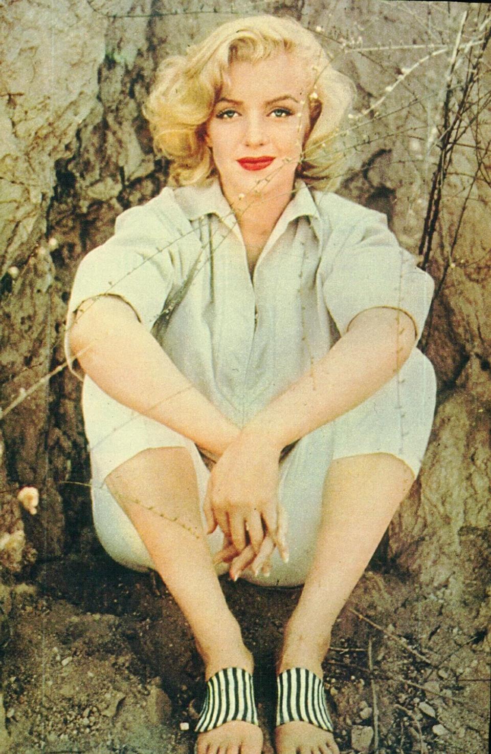 Marilyn Monroe en color