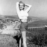 Marilyn Monroe demuestra toda su sensualidad