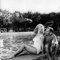 Marilyn Monroe con Johnny Hyde