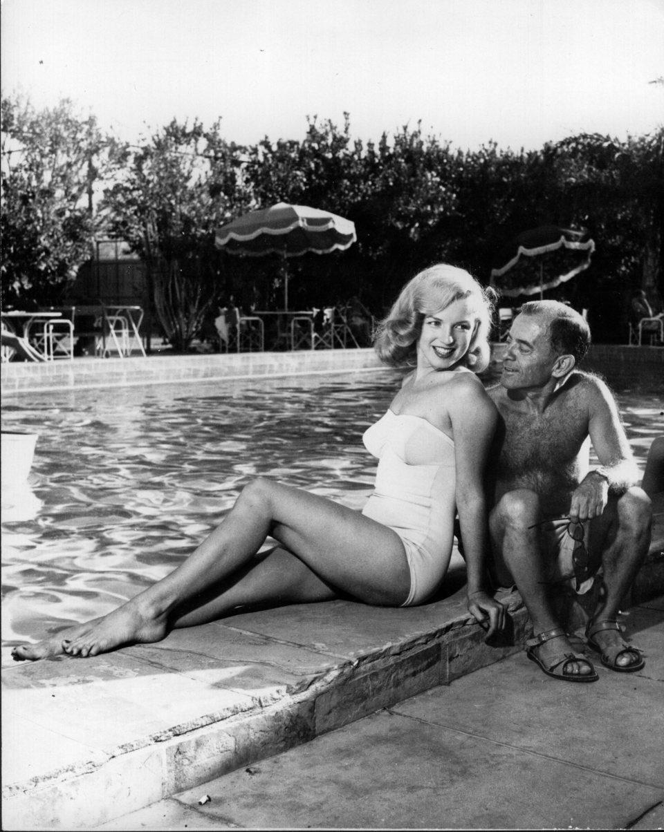 Marilyn Monroe con Johnny Hyde