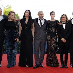 El jurado de la Mostra de Venecia 2012 en la inauguración