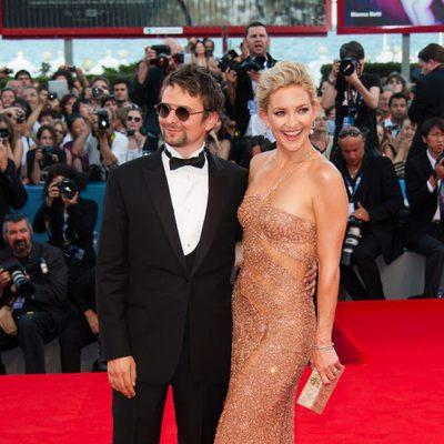 Matt Bellamy y Kate Hudson en la Mostra de Venecia 2012