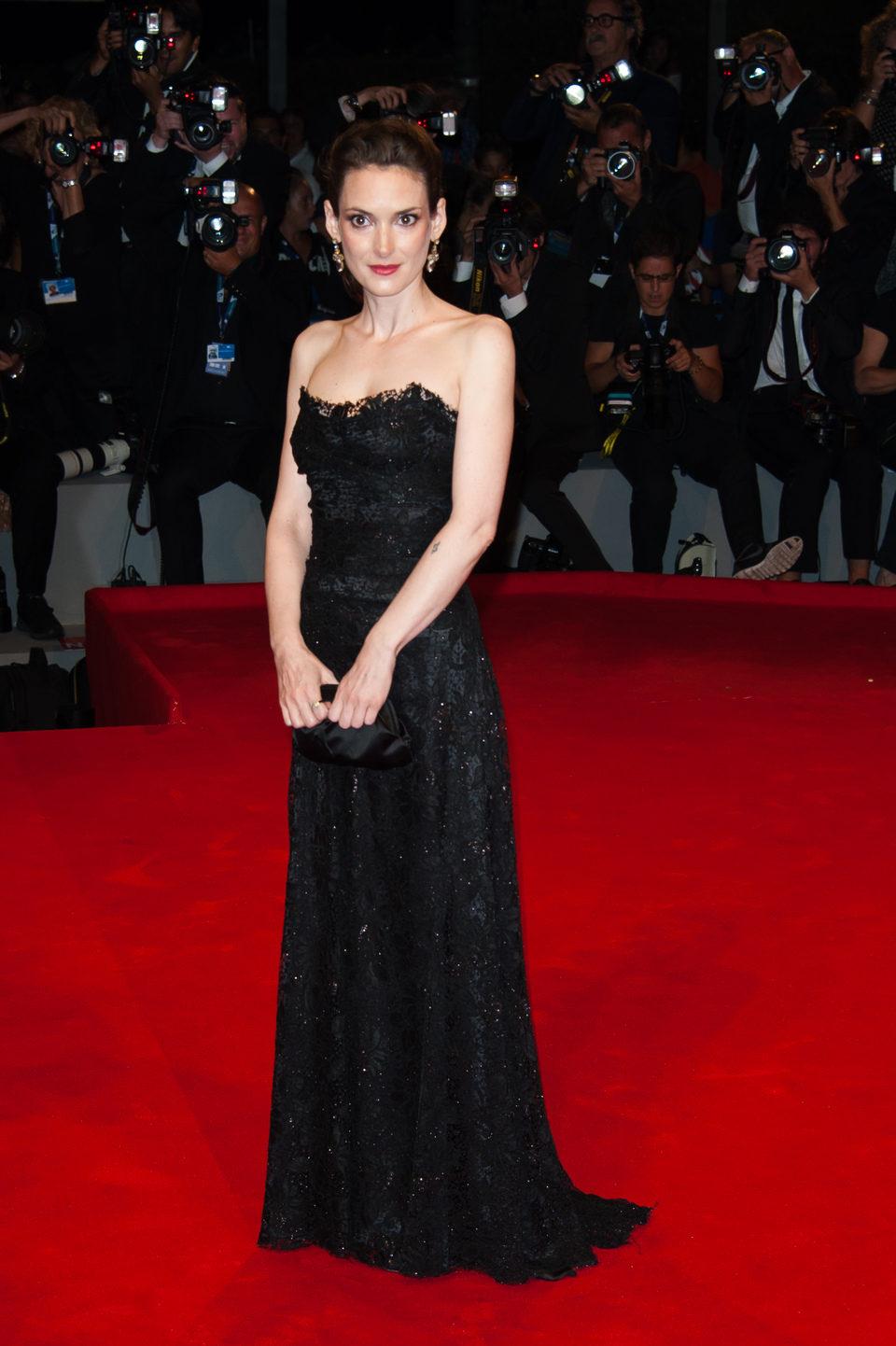 Winona Ryder en la Mostra de Venecia 2012