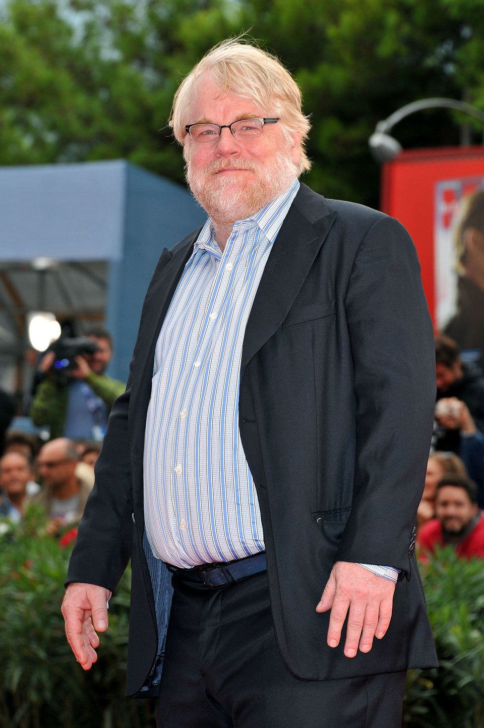 Philip Seymour Hoffman en la Mostra de Venecia 2012