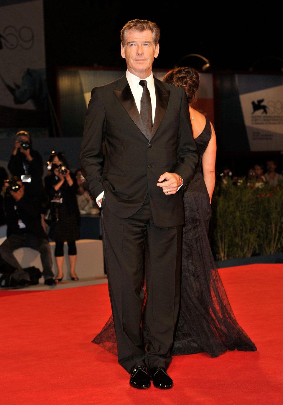 Pierce Brosnan posa en la Mostra de Venecia 2012