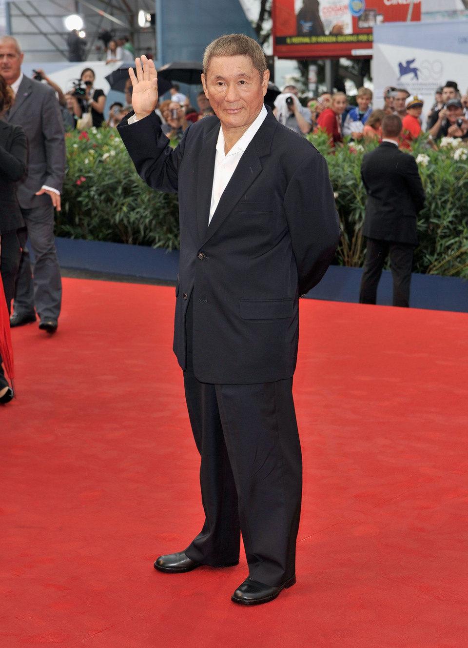Takeshi Kitano en la Mostra de Venecia 2012