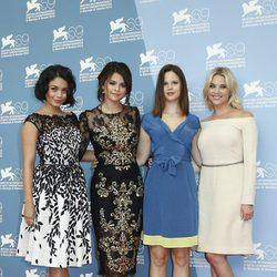 Las actrices de Spring Breakers en la Mostra de Venecia 2012