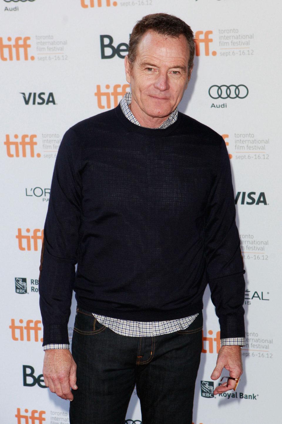 Bryan Cranston en el TIFF 2012