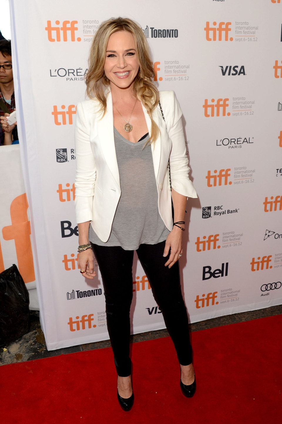 Julie Benz en el TIFF 2012