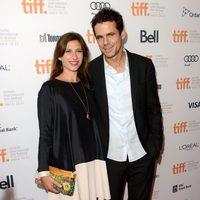 Tom Tykwer y Marie Steinmann en el TIFF 2012