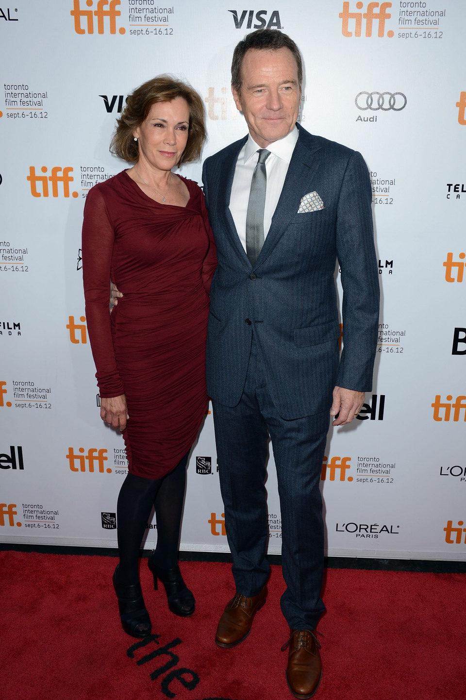 Bryan Cranston y Robin Dearden en el TIFF 2012