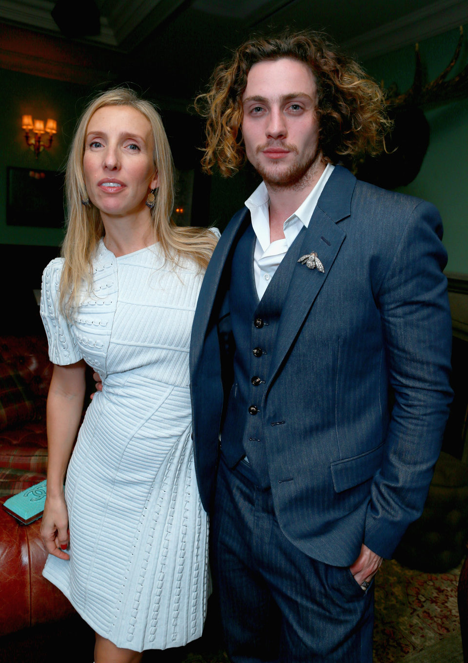 Sam Taylor-Wood y Aaron Johnson en el TIFF 2012