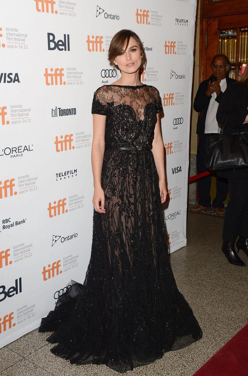 Keira Knightley en el TIFF 2012
