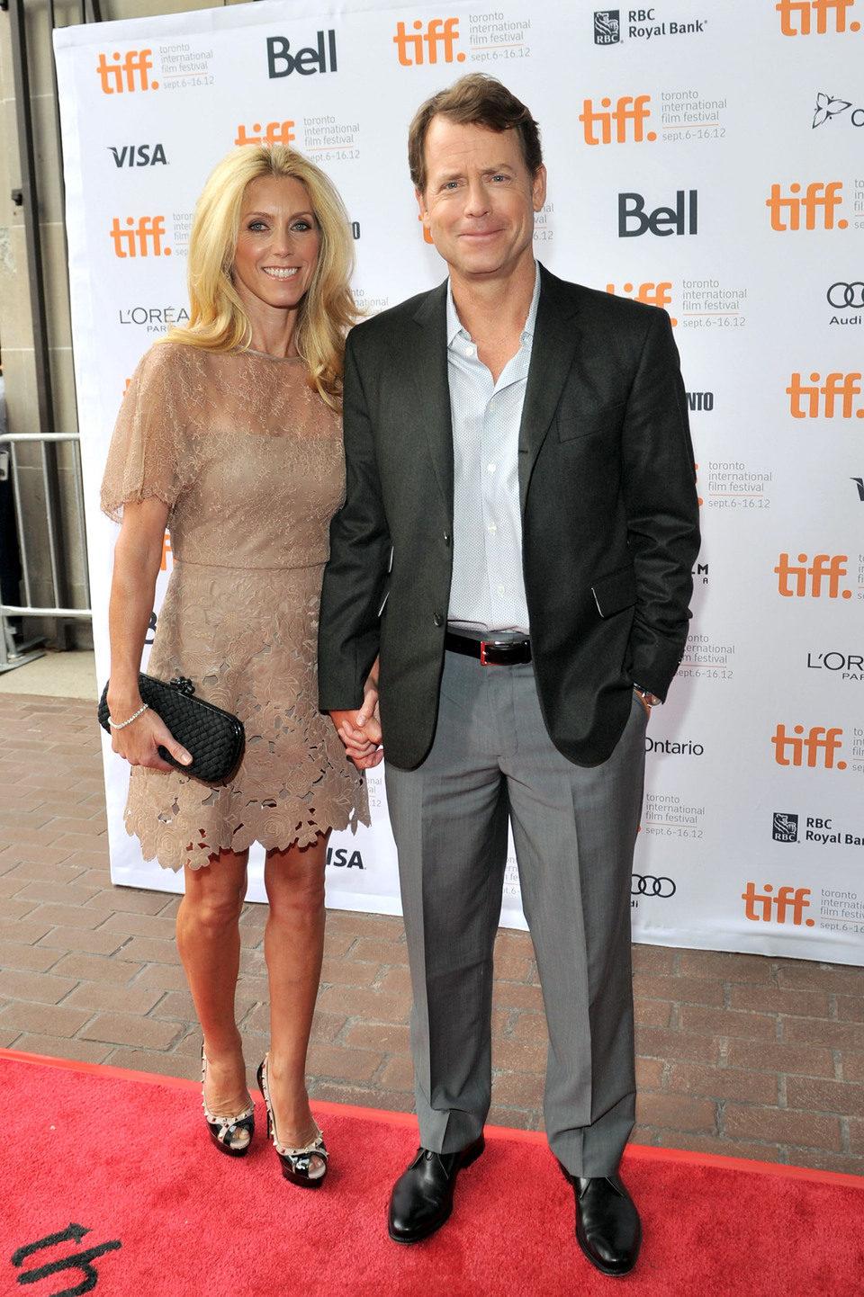 Greg Kinnear y Helen Labdon en el TIFF 2012
