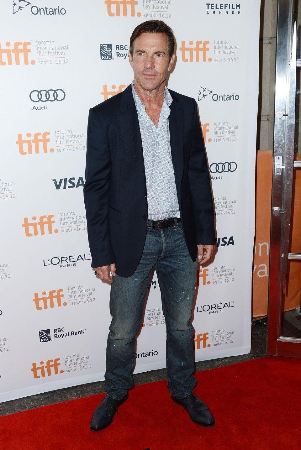 Dennis Quaid en el TIFF 2012