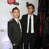Zac Efron y Ramin Bahrani en el TIFF 2012