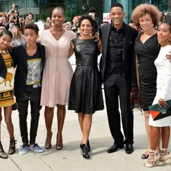 Will Smith y su familia en el TIFF 2012