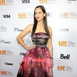 Jennifer Lawrence en el TIFF 2012