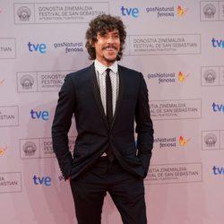 Óscar Jaenada en el Festival de San Sebastián 2012