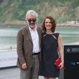 José Sacristán y Valeria Alonso en el Festival de San Sebastián 2012
