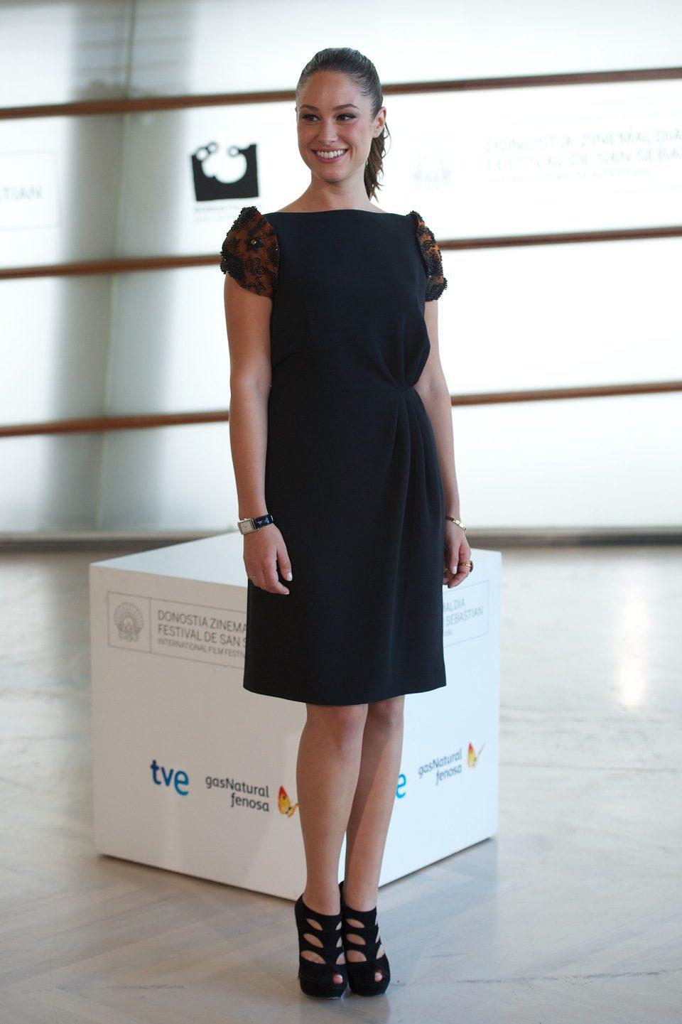 Aida Folch en el Festival de San Sebastián 2012