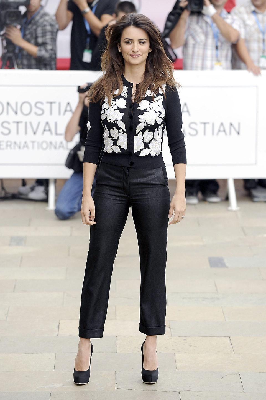 Penélope Cruz en el Festival de San Sebastián 2012