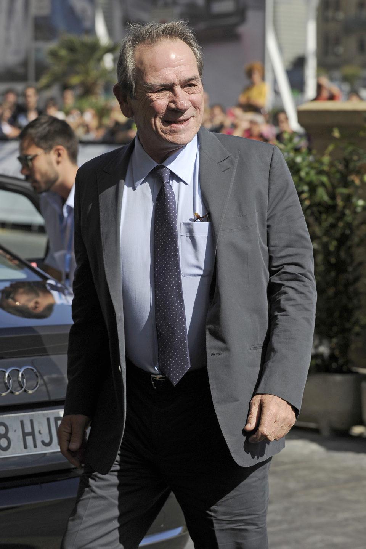 Tommy Lee Jones en el Festival de San Sebastián 2012