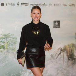 Manuela Vellés en la premiére de 'Lo imposible'
