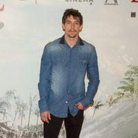 Adrián Lastra en la premiére de 'Lo imposible'