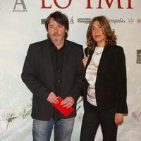 Enrique Urbizu en la premiére de 'Lo imposible'