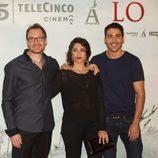 Ben Temple, Alicia Borrachero y Miguel Ángel Silvestre en la premiére de 'Lo imposible'